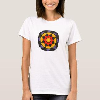Glückliches Lotus T-Shirt