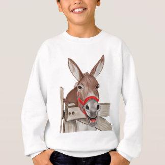 Glückliches Maultier png Sweatshirt
