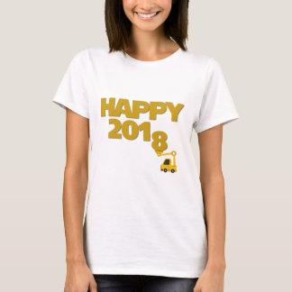 Glückliches neues Jahr 2018 Frauen-T - Shirt