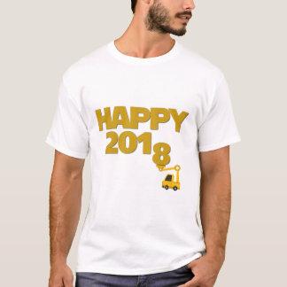 Glückliches neues Jahr 2018 Mann-T - Shirt