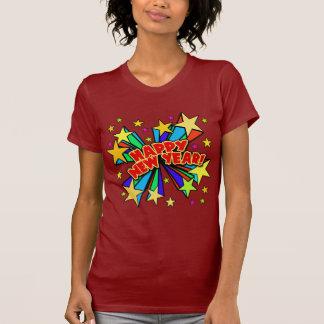 Glückliches neues Jahr-T - Shirts, BierSteins,