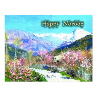 Glückliches Norooz. Persische neues Postkarte