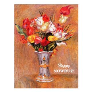 Glückliches Nowruz. Persische neues Postkarte
