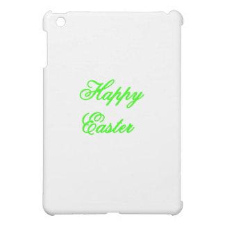 Glückliches Ostern-Grün die MUSEUM Zazzle Geschenk iPad Mini Cover