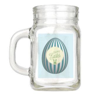 Glückliches Ostern-Weckglas Einmachglas