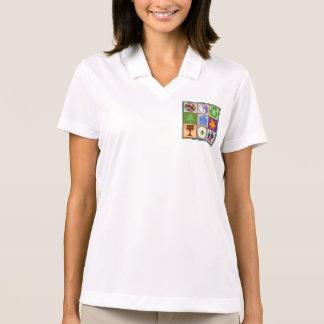 Glückliches Paar Glücklich-Zuhause Zitat-Klugheit Polo Shirt