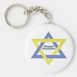 Glückliches Passahfest Schlüsselanhänger