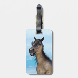 Glückliches Pferd Kofferanhänger
