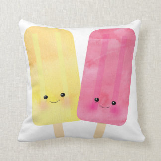 Glückliches Popsicle-Kissen Kissen