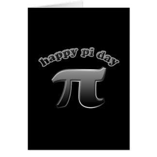 Glückliches PU-Tagespu-Symbol für Mathe-Nerds am Karte