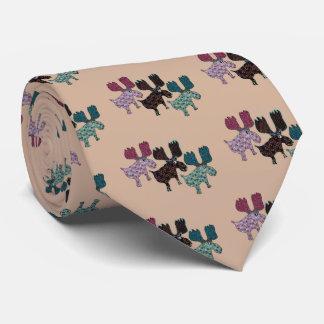 Glückliches Ren Krawatte