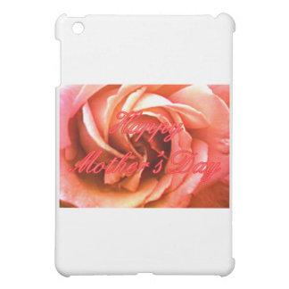 Glückliches RoseThe der Tag der Mutter rotes rosa iPad Mini Hüllen