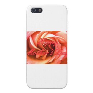 Glückliches RoseThe der Tag der Mutter rotes rosa  iPhone 5 Cover