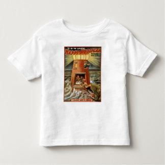 Glückliches Rowdy-Leuchtturm-Plakat Hemden