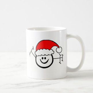 Glückliches Schinken-Morsealphabet Ho! Ho! Ho! Kaffeetasse