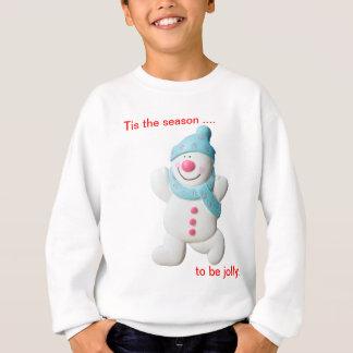 Glückliches Schneemannneuheitsweihnachten scherzt Sweatshirt