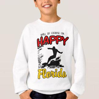Glückliches Schwarzes BRANDUNGS-FLORIDAS 2. Sweatshirt