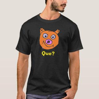 Glückliches Schwein am Grill T-Shirt