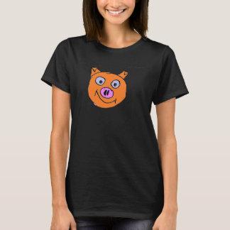 Glückliches Schwein T-Shirt