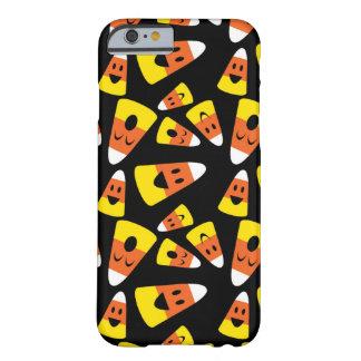 Glückliches smileysüßigkeitsmais orange barely there iPhone 6 hülle