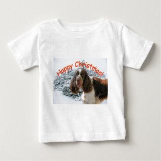 Glückliches Springer-Weihnachten! Baby T-shirt