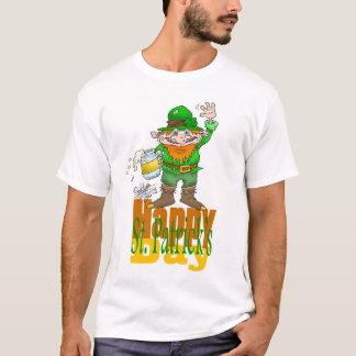 Glückliches St., Patrick ` s Tag., auf einem T-Shirt