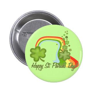 Glückliches St. Patricks Day! Runder Button 5,1 Cm