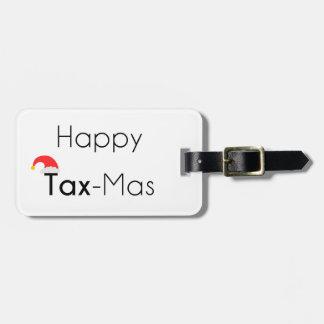 Glückliches TaxMas Gepäckanhänger