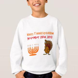 Glückliches Thanksgivukkah am 28. November 2013 Sweatshirt