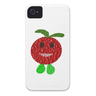 Glückliches Tomate-BlackBerry-mutiger Kasten iPhone 4 Hülle