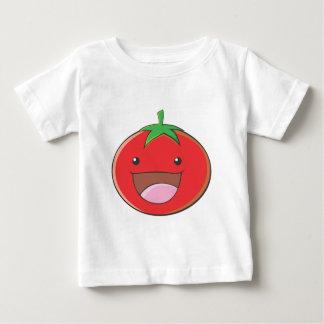 Glückliches Tomate-Lächeln Baby T-shirt