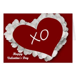 Glückliches Valentine' s-Tag Karte