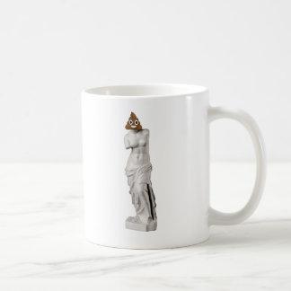 Glückliches Venus von Milo kacken Kaffeetasse