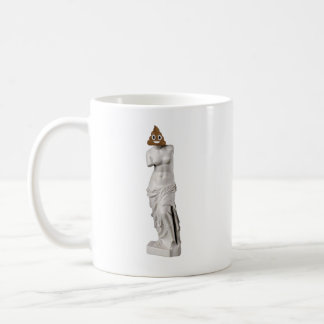 Glückliches Venus von Milo kacken (Lefty) Kaffeetasse