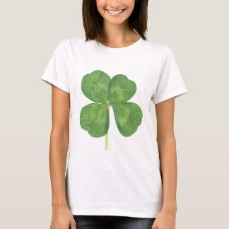 Glückliches vierblättriges Kleeblatt Kleeblatt T-Shirt