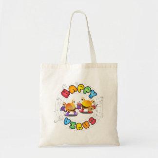 Glückliches Virus - Tasche