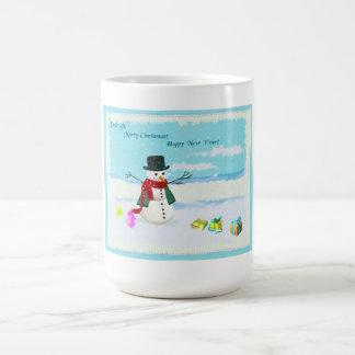 Glückliches WeihnachtsTasse Tassen