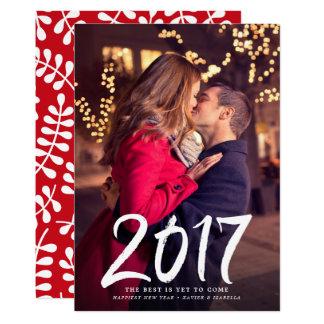 Glücklichstes neues Jahr-Foto-Feiertag Karte