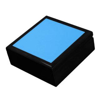 Glückselige Blau-Farbe des Himmel-B18 Schmuckschachtel