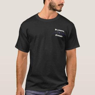 Glückseliges Elend: Grundlegender dunkler T - T-Shirt