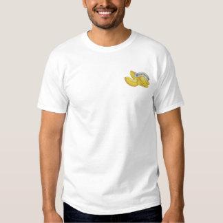 Glückskekse Besticktes T-Shirt
