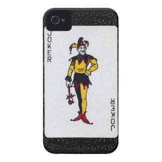 Glücksspiel-Poker-Tätowierungsgurren Joker iphone  Case-Mate iPhone 4 Hüllen