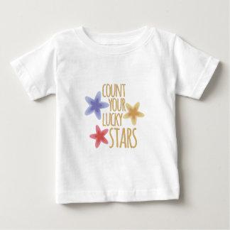 Glücksstern Baby T-shirt