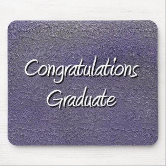 Glückwunsch-Absolvent Mousepads