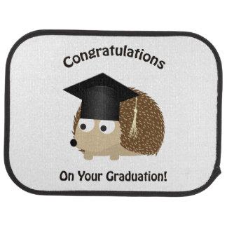 Glückwunsch auf Ihrem Abschluss-Igel Automatte