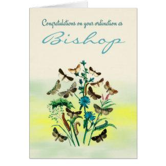 Glückwunsch-Bischofs-Klassifikation mit Grußkarte