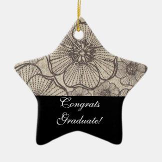 Glückwunsch graduiert Stern-Verzierung Ornamente