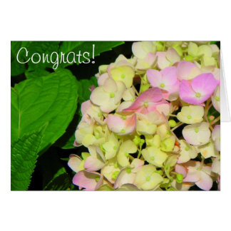 Glückwunsch! Grußkarte