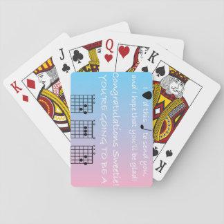 Glückwunsch-Vati - Musik - Gitarre - Spiel-Karten Spielkarten