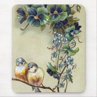 Glückwunsch-Vögel Mousepad